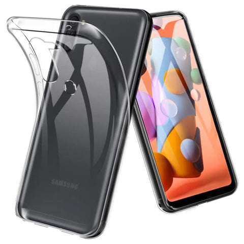 TPU Gel case for Samsung Galaxy A11 - Clear