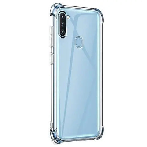 Tough Gel case for Samsung Galaxy A11 - Clear