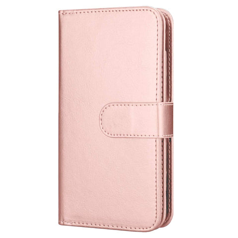Big Detachable Wallet Case for Samsung A20/A30 - Rose