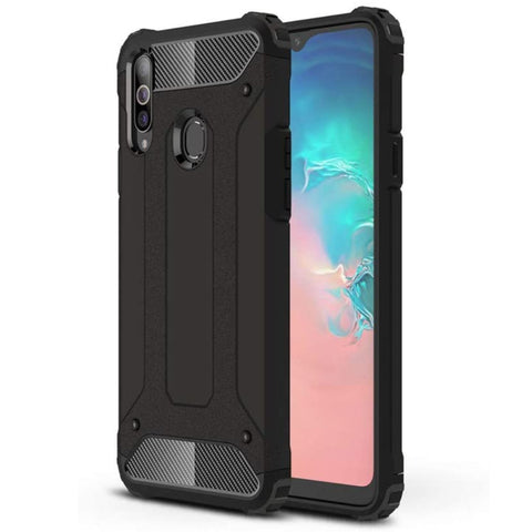 Tough Armour case for Samsung A20S - Black