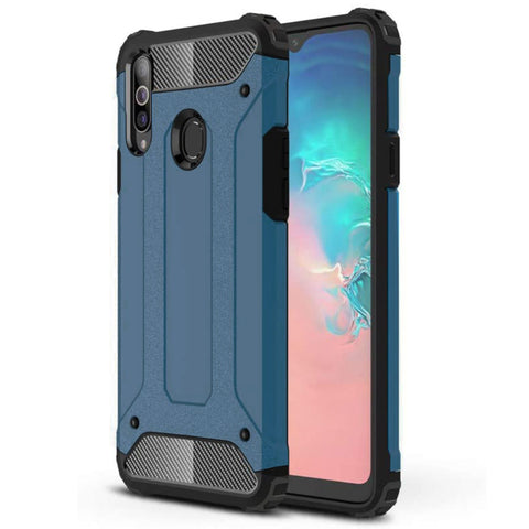 Tough Armour case for Samsung A20S - Blue