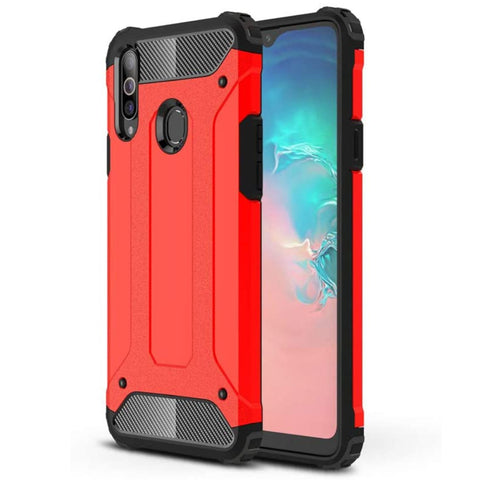 Tough Armour case for Samsung A20S - Red