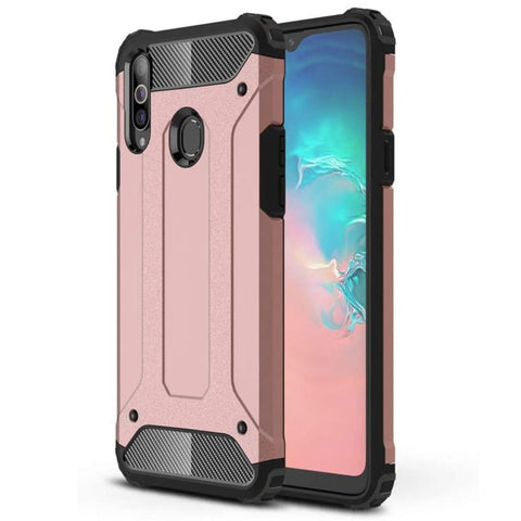 Tough Armour case for Samsung A20S - Rose
