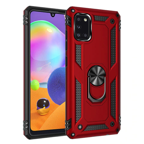 Tough Ring case for Samsung Galaxy A31 - Red