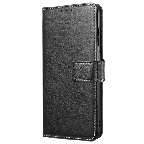 ID Wallet for Samsung Galaxy A71 - Black