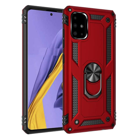 Tough Stand case for Samsung Galaxy A51 - Red