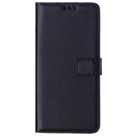 Leather Wallet case for Samsung Galaxy A90 - Black