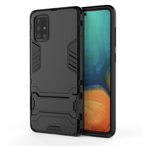 Tough Kickstand case for Samsung Galaxy A71 - Black