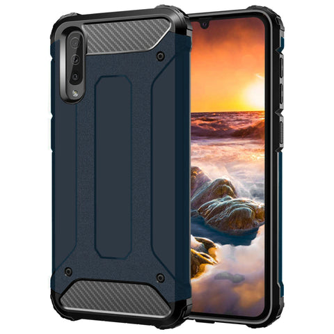 Tough Armour case for Samsung A90 case - Blue