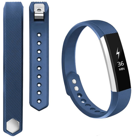Rubber Strap for Fitbit Ace/Ace 2/Alta HR - Blue