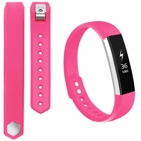 Rubber Strap for Fitbit Ace/Ace 2/Alta HR - Pink