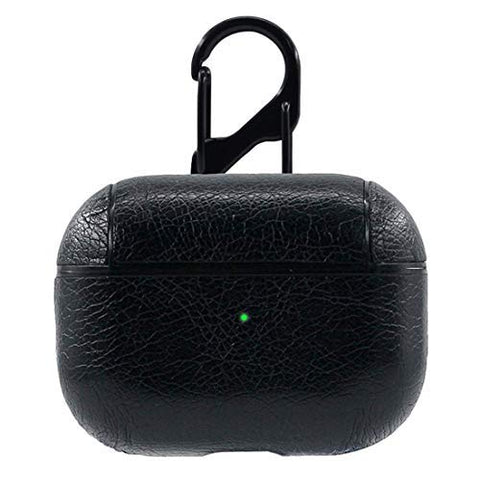 PU Leather Case for Apple Airpods Pro - Black