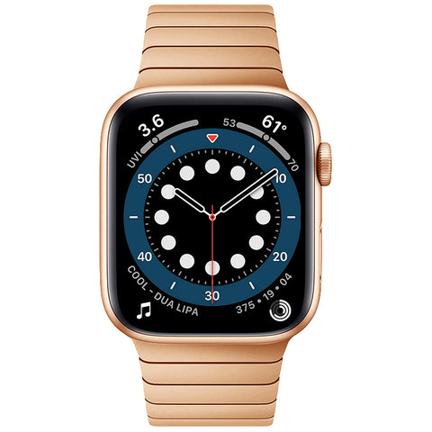Premium Steel Strap for Apple Watch 38/40mm - Rose Gold