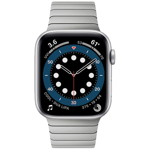 Premium Steel Strap for Apple Watch 38/40mm - Silver