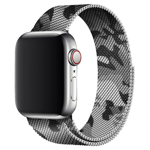 Milanese Strap for Apple Watch 38/40mm - Camouflage