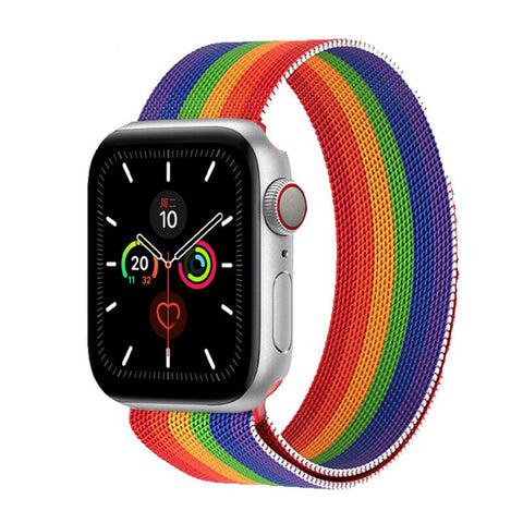 Milanese Strap for Apple Watch 38/40mm - Rainbow