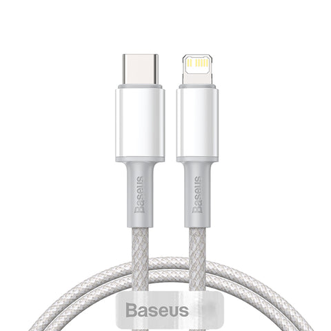 Baseus Type C to Lightning cable 2m - White
