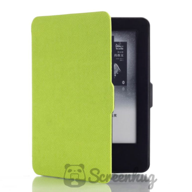 Paperwhite Flip Case for the Kindle - Green - screenhug