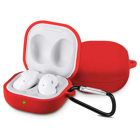 Silicone Case for Galaxy Buds Live - Red