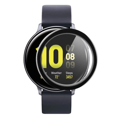 TPU Screen Protector for Galaxy Watch Active 2 (40mm) - Black