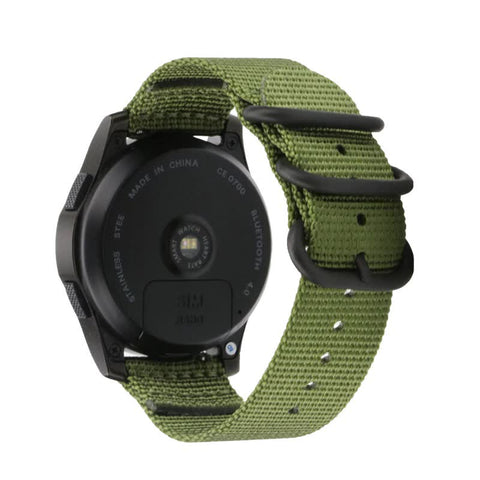Nato Nylon Strap for Samsung Galaxy Watch 20mm - Army Green