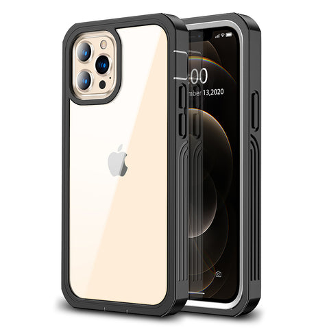 Heavy Duty Case for iPhone 12 / 12 Pro - Black