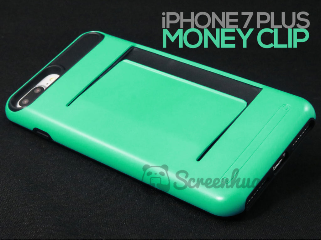 new product c8a8f 2f9a2 Money Clip for iPhone 7 Plus & iPhone 8 Plus - Green