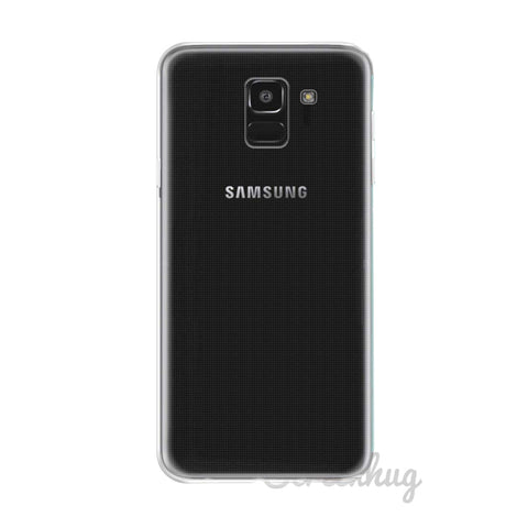 Clear gel case for Samsung Galaxy J6 - screenhug