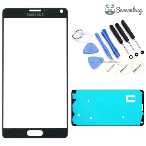 Samsung Galaxy Note 4 Screen Replacement - Black + Toolkit