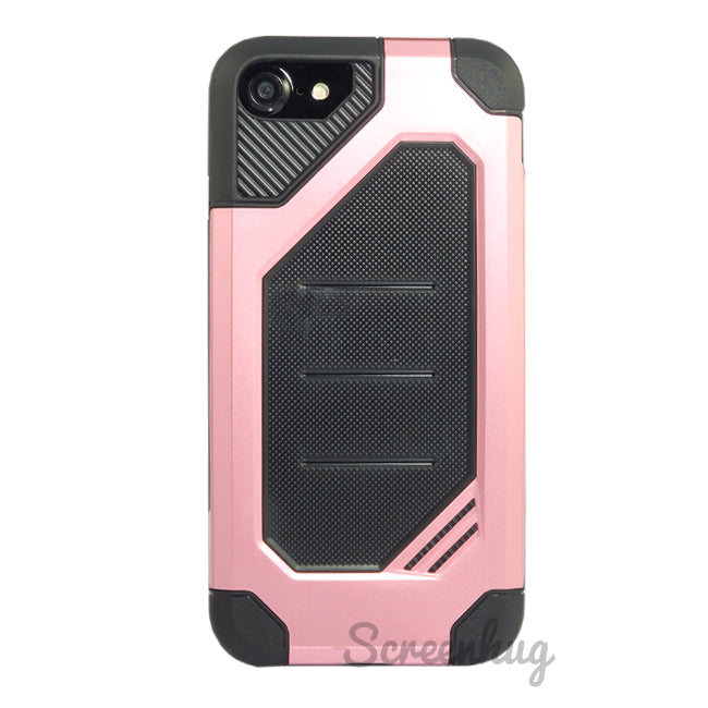 Rugged Tough Case for iPhone 7/8 - Rose Gold - screenhug
