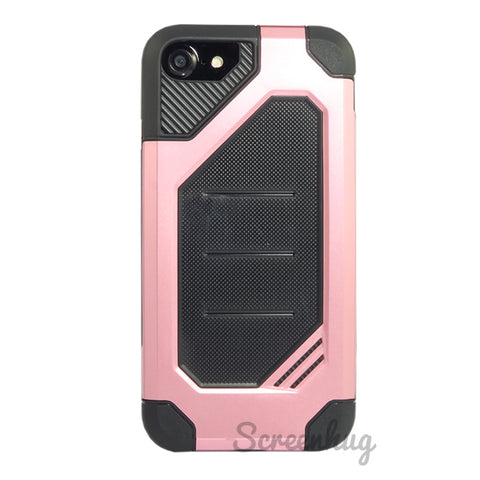 Rugged Tough Case for iPhone 7/8 - Rose Gold