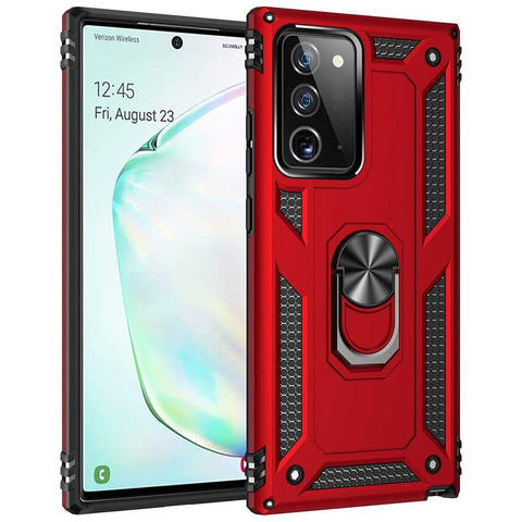 Tough Ring case for Samsung Galaxy Note 20 - Red