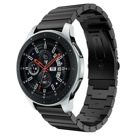 Premium Steel Strap for Samsung Galaxy Watch 20mm - Black