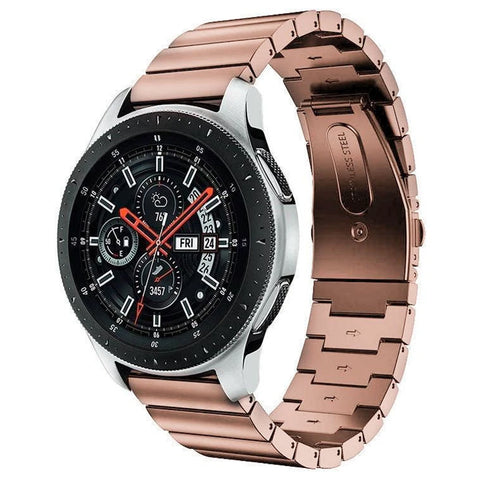 Premium Steel Strap for Samsung Galaxy Watch 20mm - Rose Gold