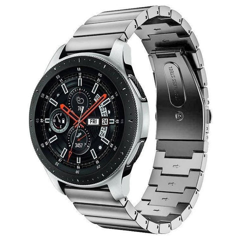 Premium Steel Strap for Samsung Galaxy Watch 20mm - Silver