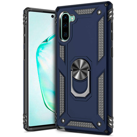 Tough Stand Case for Samsung Galaxy Note 10 - Blue - screenhug