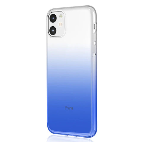 Gradient Thin Shell case for iPhone 11 - Blue