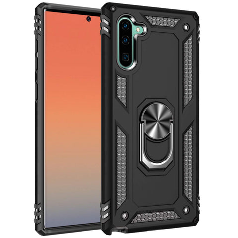 Tough Stand Case for Samsung Galaxy Note 10 - Black