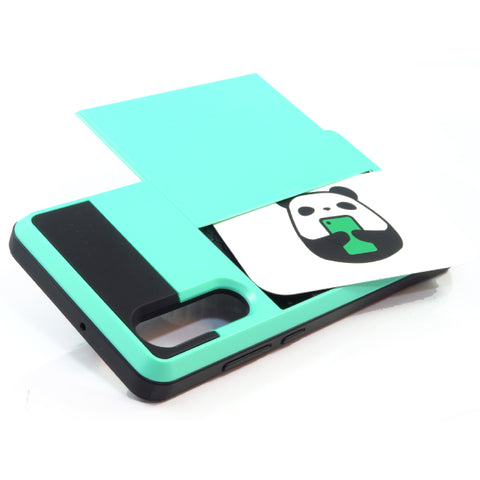 Huawei P30 Card Tough case - Teal