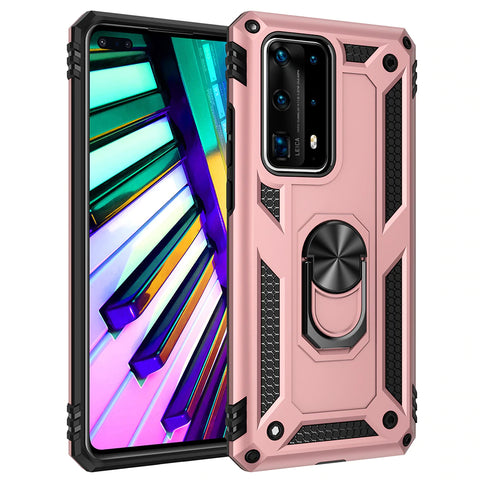 Tough Ring Stand case for Huawei P40 - Rose