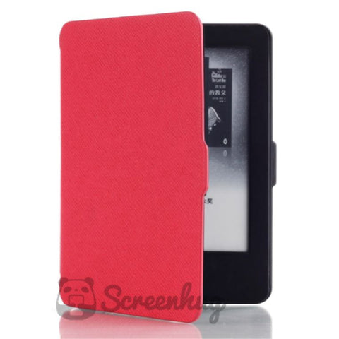 Paperwhite Flip Case for Kindle 2018 - Red