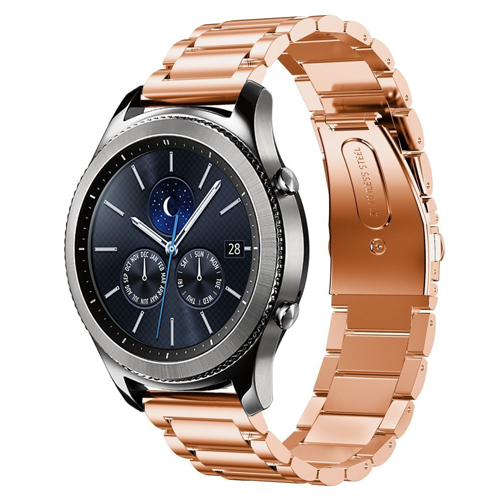 Stainless Steel Strap for Samsung Watch - Rose Gold - screenhug
