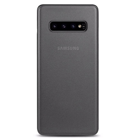 Ultra Thin case for Samsung Galaxy S10 - Dark Grey
