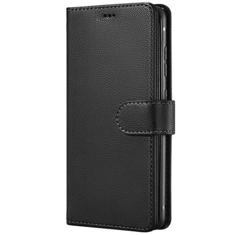 Leather Wallet case for Samsung Galaxy S20 Plus - Black