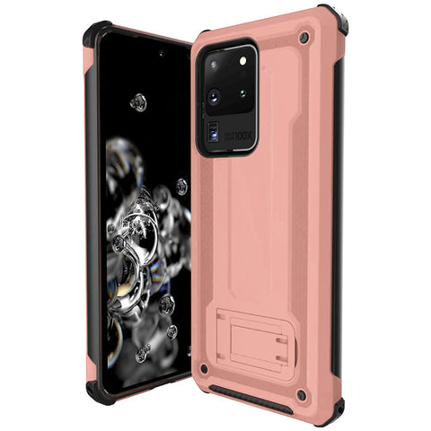 Armour Kickstand case for Samsung Galaxy S20 Ultra - Rose