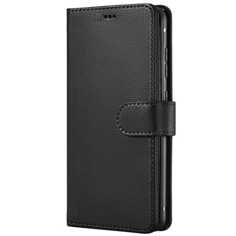 Leather Wallet case for Samsung Galaxy S20 Ultra - Black