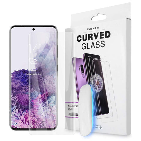 UV Glass Screen Protector for Samsung Galaxy S20 Plus - Clear