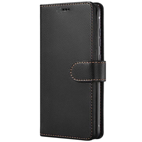 Leather Wallet case for Samsung Galaxy S20 - Black