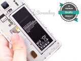 Samsung Galaxy Note 4 Replacement Battery - screenhug