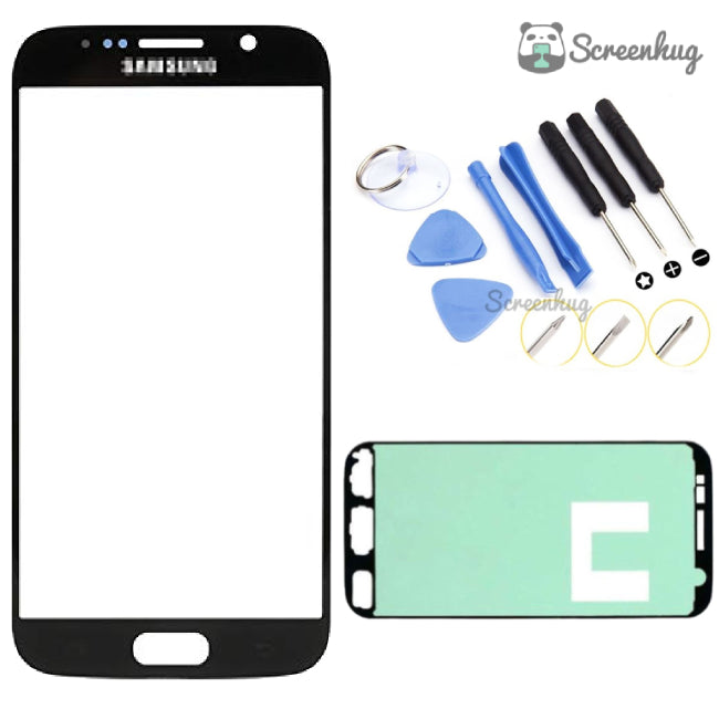Samsung Galaxy S6 Screen Replacement - Black + Toolkit - screenhug